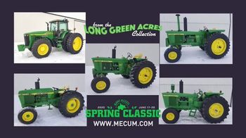 Mecum Auctions TV Spot, '2020 Spring Classic: The Long Green Acres Collection' - Thumbnail 2