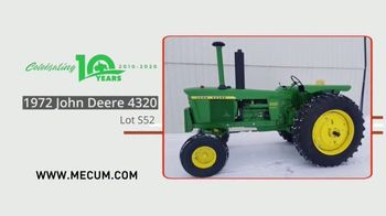 Mecum Auctions TV Spot, '2020 Spring Classic: The Long Green Acres Collection' - Thumbnail 4