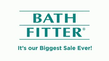 Bath Fitter Biggest Sale Ever TV Spot, 'One on One Relationships' - Thumbnail 1
