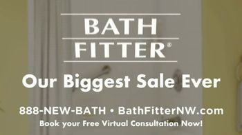 Bath Fitter Biggest Sale Ever TV Spot, 'One on One Relationships' - Thumbnail 9