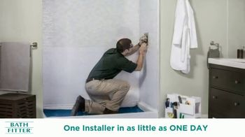 Bath Fitter Biggest Sale Ever TV Spot, 'One on One Relationships' - Thumbnail 5