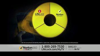 LifeLock TV Spot, 'CSP360 V1A Celeb120 25'
