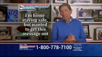 Medicare Coverage Helpline TV Spot, 'Expanded Benefits: Staying At Home' Featuring Joe Namath