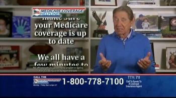 Medicare Coverage Helpline TV Spot, 'Expanded Benefits: Staying At Home' Featuring Joe Namath - Thumbnail 6
