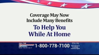 Medicare Coverage Helpline TV Spot, 'Expanded Benefits: Staying At Home' Featuring Joe Namath - Thumbnail 7