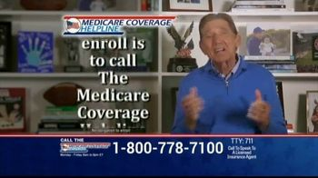Medicare Coverage Helpline TV Spot, 'Expanded Benefits: Staying At Home' Featuring Joe Namath - Thumbnail 9