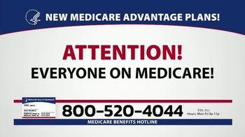 Medicare Benefits Helpline TV Spot, '2020 Medicare Advantage Plans'