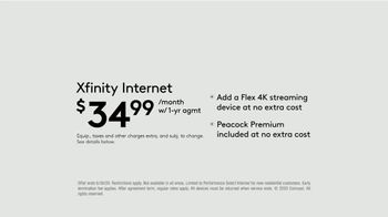 XFINITY Internet TV Spot, 'Endless Entertainment: $34.99' - Thumbnail 7