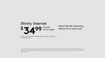 XFINITY Internet TV Spot, 'Endless Entertainment: $34.99' - Thumbnail 6