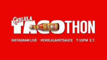Cholula Tacothon TV Spot, 'Eat Tacos. Save Restaurants' - 12 commercial airings