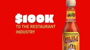 Cholula Tacothon TV Spot, 'Eat Tacos. Save Restaurants' - Thumbnail 3
