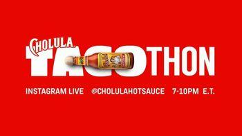 Cholula Tacothon TV Spot, 'Eat Tacos. Save Restaurants' - 12 commercial airings