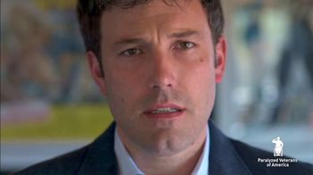 Paralyzed Veterans of America TV Spot, 'Concerned Veterans' Featuring Ben Affleck