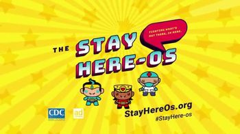 Centers for Disease Control and Prevention TV Spot, 'The Stay Here-os' - Thumbnail 7
