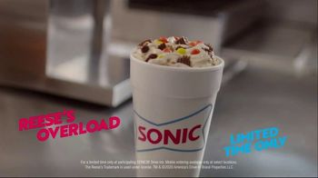 Sonic Drive-In Reese's Overload Blast TV Spot, 'Yes Ma'am' - Thumbnail 9