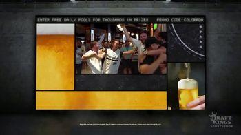 DraftKings Sportsbook TV Spot, 'Colorado: Free Daily Pools' - Thumbnail 2