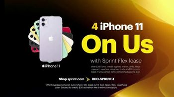 Sprint Unlimited TV Spot, 'Our Best Unlimited Deal: Four Lines of Unlimited for Just $100 a Month'