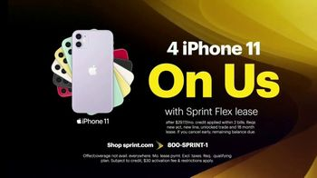 Sprint Unlimited TV Spot, 'Our Best Unlimited Deal: Four Lines of Unlimited for Just $100 a Month' - Thumbnail 4