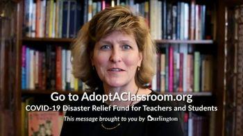Burlington TV Spot, 'Teachers Need Our Help' - Thumbnail 5