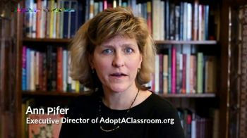 Burlington TV Spot, 'Teachers Need Our Help'