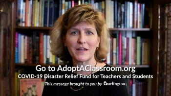 Burlington TV Spot, 'Teachers Need Our Help' - Thumbnail 3