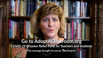 Burlington TV Spot, 'Teachers Need Our Help' - Thumbnail 4