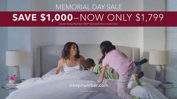 Sleep Number Memorial Day Sale TV Spot, 'Adjustable Settings' - Thumbnail 9