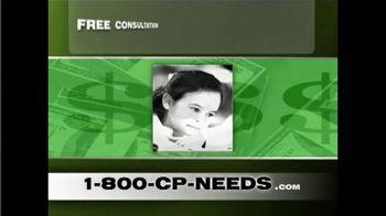 1-800-CP-NEEDS TV Spot, 'Cerebral Palsy: Millions of Dollars' - Thumbnail 2