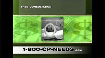 1-800-CP-NEEDS TV Spot, 'Cerebral Palsy: Millions of Dollars' - Thumbnail 3