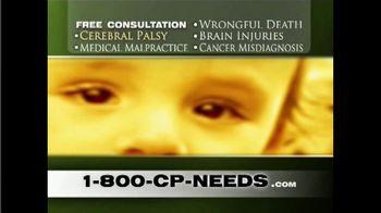 1-800-CP-NEEDS TV Spot, 'Cerebral Palsy: Millions of Dollars'