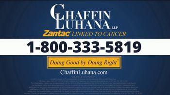 Chaffin Luhana TV Spot, 'Diagnosed Zantac Users' - Thumbnail 5