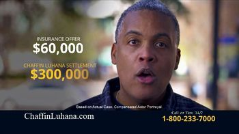 Chaffin Luhana TV Spot, 'Worth More' - Thumbnail 3