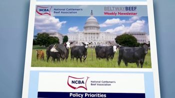 National Cattlemen's Beef Association (NCBA) TV Spot, 'Government Policy Updates' - Thumbnail 5