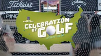 PGA TOUR Superstore Celebration of Golf Event TV Spot, 'Three Days of Giveaways' Song by Gyom - Thumbnail 5