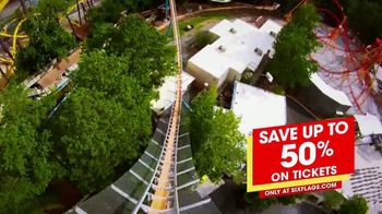 Six Flags Over Georgia TV Spot, 'It's Back: Save Up to 50 Percent on Tickets' - Thumbnail 8
