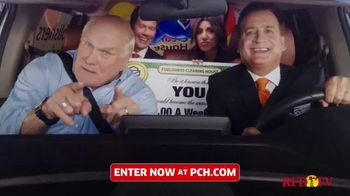 Publishers Clearing House TV Spot, 'Headed Your Way' Featuring Terry Bradshaw - 1523 commercial airings