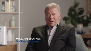 SoClean TV Spot, 'Sleep Disorder: $70 Rebate' Featuring William Shatner - 9 commercial airings