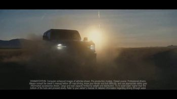 Ford TV Spot, 'Built Wild: Waterfall' [T1] - Thumbnail 4