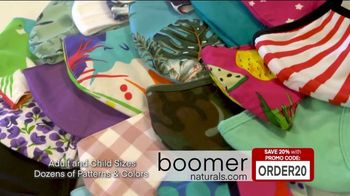 Boomer Naturals Multi-Use Protective Face Masks TV Spot, 'Ideal Face Cover: Makes a Difference' - Thumbnail 10
