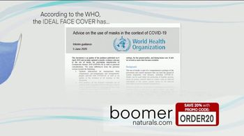 Boomer Naturals Multi-Use Protective Face Masks TV Spot, 'Ideal Face Cover: Makes a Difference' - Thumbnail 3