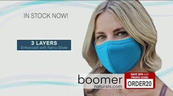 Boomer Naturals Multi-Use Protective Face Masks TV Spot, 'Ideal Face Cover: Makes a Difference'
