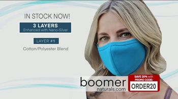 Boomer Naturals Multi-Use Protective Face Masks TV Spot, 'Ideal Face Cover: Makes a Difference' - Thumbnail 7
