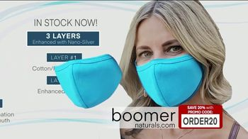 Boomer Naturals Multi-Use Protective Face Masks TV Spot, 'Ideal Face Cover: Makes a Difference' - Thumbnail 8