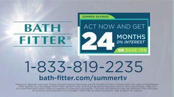 Bath Fitter TV Spot, 'Summer Savings: 24 Months No Interest' - Thumbnail 8