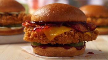 Popeyes BBQ Bacon Cheddar Chicken Sandwich TV Spot, 'Better' - Thumbnail 5