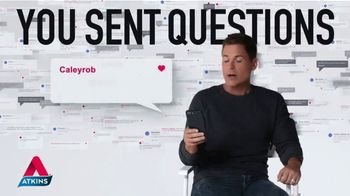 Atkins TV Spot, 'Questions: Shake Expert' Featuring Rob Lowe - Thumbnail 1