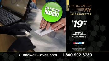 Copper Fit GuardWell Hand Protector TV Spot, 'Protective Layer: $19.99' - Thumbnail 10