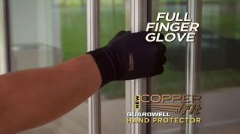 Copper Fit GuardWell Hand Protector TV Spot, 'Protective Layer: $19.99' - Thumbnail 2
