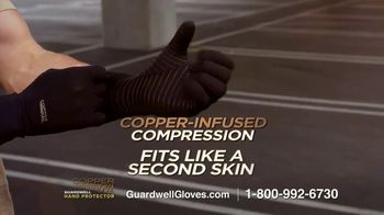 Copper Fit GuardWell Hand Protector TV Spot, 'Protective Layer: $19.99' - Thumbnail 7