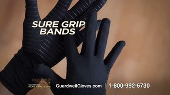 Copper Fit GuardWell Hand Protector TV Spot, 'Protective Layer' - Thumbnail 8